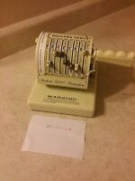 Vintage PayMaster Series X-550 Check Writer with Key Fast Shipping!