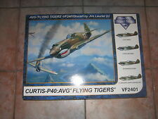 P40 WarHawk / Tomahawk 1/24 scale, Vintage Fighter Series,  Flying Tigers