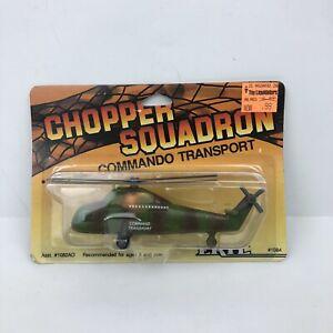 Vintage Ertl 1986 Chopper Squadron Commando Transport New