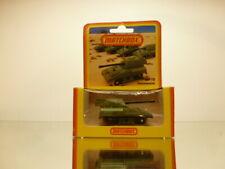 RARE GERMAN MATCHBOX 70 CANON  PANZERKANONE -ARMY GREEN - UNUSED IN UNOPENED BOX