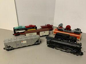 WOW! Lionel Postwar 1956 set 1565WS w/2065 Hudson & freight cars! C5 FREE SHIP!