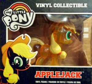 FUNKO MY LITTLE PONY APPLEJACK CLEAR GLITTER VARIANT - MINT IN BOX