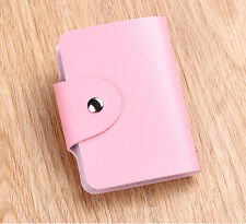Fashion Cute Womens Wallet Holder Pocket Business ID Card Credit Bag Case X-3