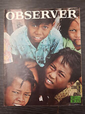 Observer Magazine: Religious Retreats, Malaysia Special: October 11, 1964