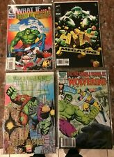 INCREDIBLE HULK AND WOLVERINE 1 VF WHAT IF 80 MAESTRO FUTURE IMPERFECT TRADE NM