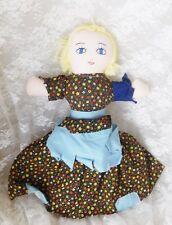 """Vintage Topsy Turvy Doll 15"""" - Rags to Respectable - Handmade"""