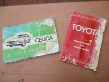 Toyota RA60 Celica Owners Manual 1981 - 1985
