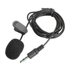 New Mini 3.5mm Studio Speech Microphone with Collar Clip for Desktop PC or Mac
