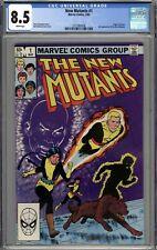 New Mutants #1 CGC 8.5 VF+ 2nd Appearance of the New Mutants Origin of Karma WP