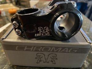Chromag HiFi V2 Alloy Stem 31.8mm Clamp 50mm 0 Degree Silver Ano