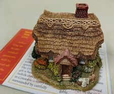"Lilliput Lane ""Wash Day"" England~1996~with Deed & Brochure ~ h. 2 1/4"""