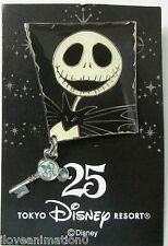 Disney TDL Disney Halloween Jack Skellington Pin