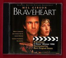 BRAVEHEART (OST) (18 trk OST CD) music by James Horner, Mel Gibson