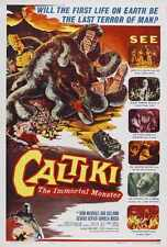Caltiki Immortal Monster Poster 01 A3 Box Canvas Print