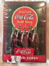 Bicycle Coca Cola Ice Cold Sold Here Playing Cards SEALED