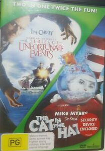Lemony Snicket's A Series of Unfortunate Events / Dr Seuss' The Cat in the Hat