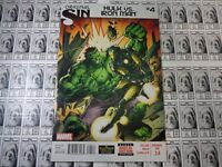Original Sin (2014) Marvel - #3.4, Hulk vs Iron Man, Waid/Ross, NM/-