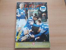 Programm 1996/97 Hertha BSC Berlin - Fortuna Köln Programmheft Stadionprogramm