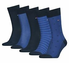 Tommy Hilfiger 5 Paar Herren Socken Classic Birdeye Geschenkbox Dark Navy NEU