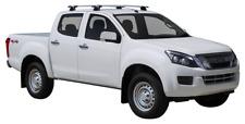ISUZU D-MAX LS-U/LS-M CREW CAB 4 DOOR UTE 2012 - 4/2017 ROOF RACKS (FIXED POINT)