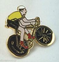 CYCLING TOUR DE YORKSHIRE BIKE BIKER ENAMEL LAPEL PIN BADGE