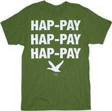 Duck Dynasty Hap-pay Hap-pay Hap-pay T-Shirt, Military Green, Large