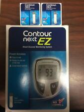 Contour Next  Blood Glucose 100 Test Strips + Free Meter Exp: 08/23/2019
