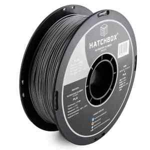 HATCHBOX 3D PLA-1KG1.75-SLV PLA 3D Printer Filament Dimensional Accuracy /-