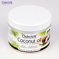COCONUT OIL 400g RAW Cold Pressed Extra Virgin Organic Unrefined Delicious Smell