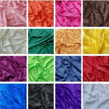 Crushed Velour Velvet Fabric Stretch Material 150cm Width Costume Cosplay Dress