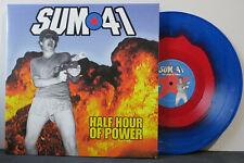 SUM 41 'Half Hour Of Power' Ltd. Edition BLUE/RED Vinyl LP NEW