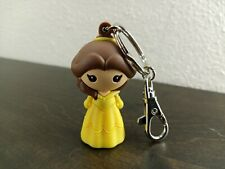 Disney Parks Belle Beauty and the Beast Figurine Keychain