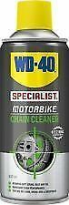 12 X WD-40 Motorbike Motorcycle Chain Cleaner 400ml  JOB LOT of TWELVE CANS TINS