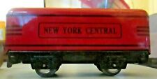 MARX 551 RED NEW YORK CENTRAL TENDER BLACK LETTERING EXCELLENT CONDITION