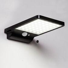 Waterproof 36 LED Solar Powered PIR Motion Sensor Wall Light Lamp Outdoor Garden
