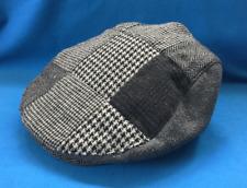 HAWKINS Flat Cap Hat Grey Size 57cms