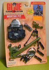 HASBRO Gi Joe Classic Collection mortero Pit Tarjeta de engranaje de misión