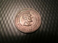 1865 Abe Lincoln Assasinated / Martyr For Liberty - Unc.? Nice