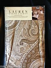 NIP-$175 RALPH LAUREN 'DESERT SPA PAISLEY' EUROPEAN PILLOW SHAM 100% COTTON