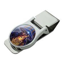Farscape Pilot Alien Moya Satin Chrome Plated Metal Money Clip