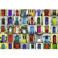 2020 Creative Door Educational 1000 Piece Jigsaw Puzzle Adults Kids Puzzle C2R6