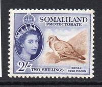 Somaliland 2/- Stamp c1953-58 Mounted Mint (1631)