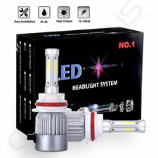 HB5 9007 Dual LED 1080W 162000LM Headlight Conversion Bulbs White 6000K HI/LO