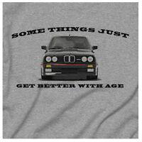 BMW M3 SPORT EVOLUTION 1990 E30 E39 E60 and Retro Grey Gift T-Shirt
