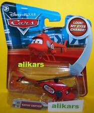 "Look ""B - KATHY COPTER Helicopter - #31 Disney Cars toy Lenticular Eyes Change"