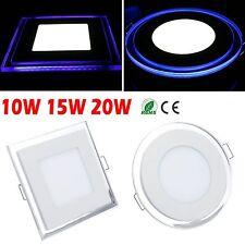 1/4/10/20pcs 10W 15W 20W Acrylic LED Recessed Ceiling Panel Down Light Bulb Lamp