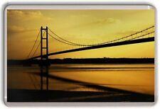 Humber Bridge, Hull Fridge Magnet 01