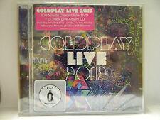 COLDPLAY  LIVE 2012  CD + DVD NEU & OVP 5099901513721
