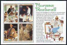 US painter souvenir sheet