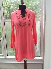Ladies Salmon Color Top / Tunic - S/M
